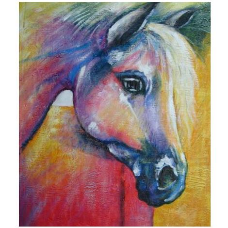 Obraz - Duhový kůň FOR LIVING