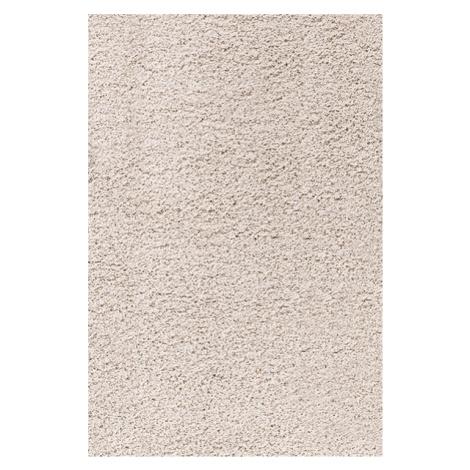 Chlupatý kusový koberec Life Shaggy 1500 béžový Typ: kulatý 120 cm Ayyildiz