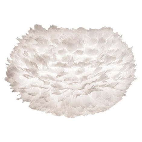 Bílé stínidlo z husího peří UMAGE EOS, ⌀ 45 cm