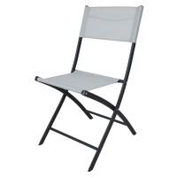 Zahradní židle skládací krémová I