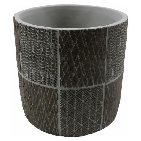 KVĚTINÁČ, keramika, 18/17 cm