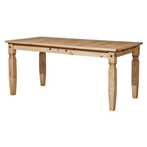 Jídelní stůl CORONA 178x92, masiv borovice, vosk