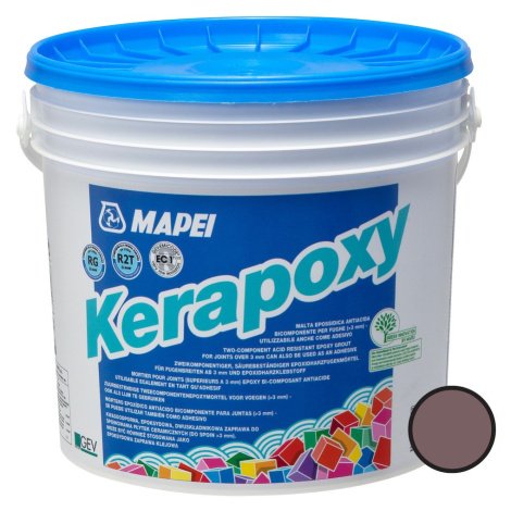 Spárovací hmota Mapei Kerapoxy čokoládová 5 kg R2T MAPX5144