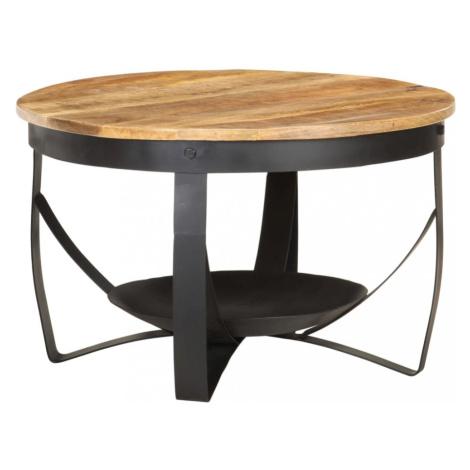 Konferenční stolek Ø68 hnědá / černá Dekorhome vidaXL