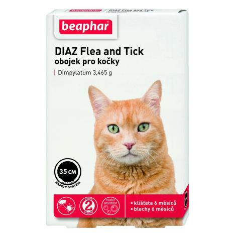 Antiparazitní obojek  BEAPHAR DIAZ  pro kočky - 35cm