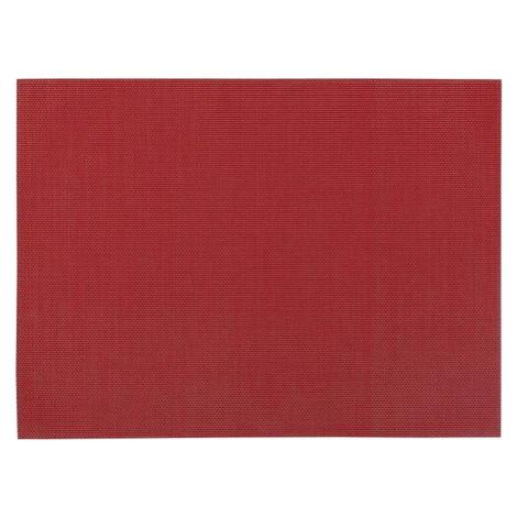 Červené prostírání Zic Zac, 45 x 33 cm