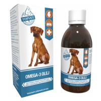 Topvet Omega-3 olej 200 ml