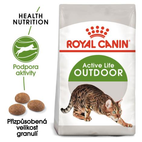 Royal Canin OUTDOOR - granule pro kočky s častým pohybem venku - 2kg