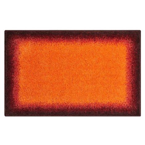 AVALON - Koupelnová předložka 53x86 cm, oranžová Grund