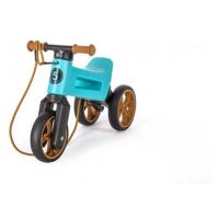Odrážedlo FUNNY WHEELS Rider SuperSport tyrkys 2v1