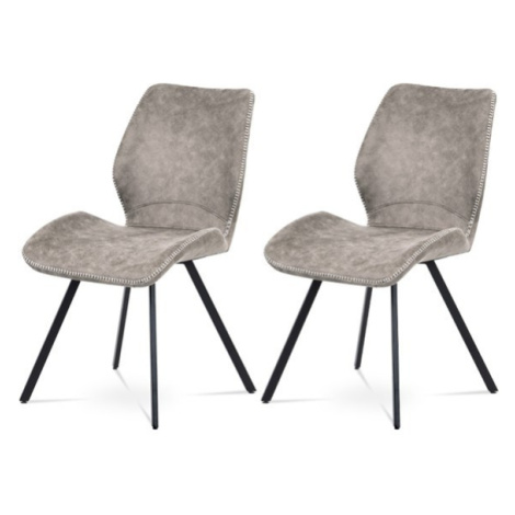 Sconto Set 2 jídelních židlí ANNIE lanýžová