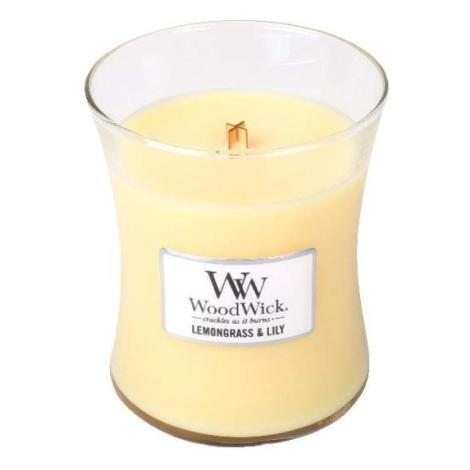 Vonná svíčka WoodWick Lemongrass & Lily 275g