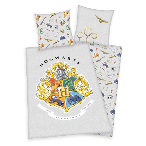 Herding Bavlněné povlečení Harry Potter šedá