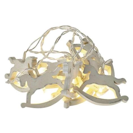 EMOS LED Vánoční řetěz CHAIN 10xLED 1,65m teplá bílá