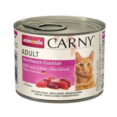 Animonda Carny Adult 6 x 200 g - Krůtí & jehněčí