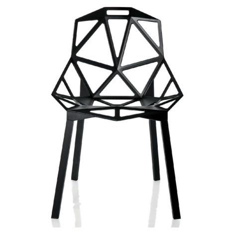 Černá jídelní židle Magis One