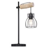 STOLNÍ LAMPA, E27, 33/55 cm
