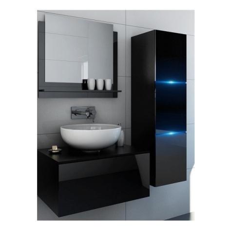 Ral Koupelnová stěna Lila 4 - Černý lesk