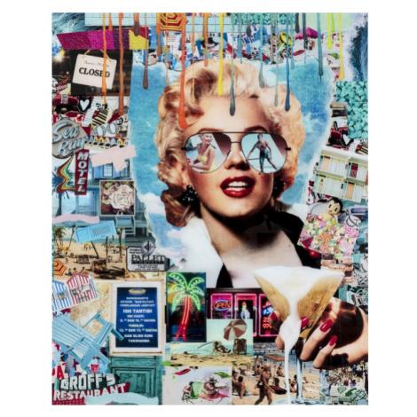 Skleněný obraz Marilyn Monroe Pop Art 120x150cm Kare Design