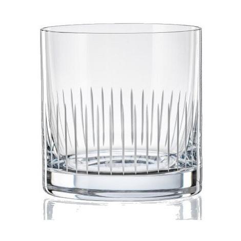 Crystalex Sklenice MATTE LINES 280 ml, 4 ks