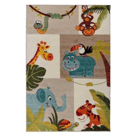 Dětský kusový koberec Jasper Kids 21620-760   béžový Typ: 140x200 cm Jutex