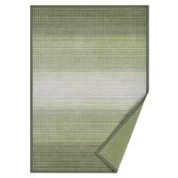 Zelený oboustranný koberec Narma Moka Olive, 100 x 160 cm