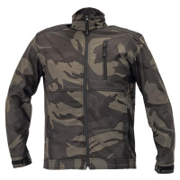 Bunda softshell Crambe camouflage S