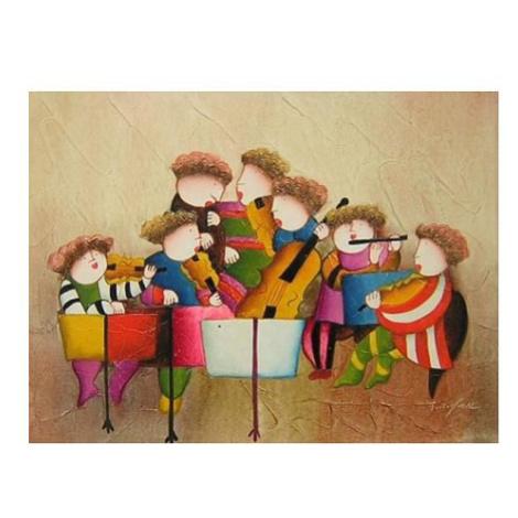 Obraz - Dětská kapela 1- 50 cm x 60 cm FOR LIVING