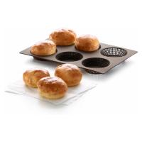 Silikonová pečicí forma na housky Lékué Roll Bread   hnědá