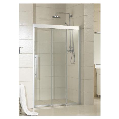 HOPA Sprchové dveře MARTOS Barva rámu zástěny Hliník leštěný, Rozměr A 110 cm, Směr zavírání Lev