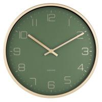 Karlsson 5720GR designové nástěnné hodiny, pr. 30 cm