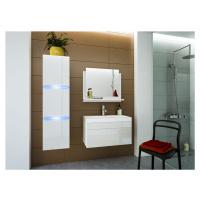 Ral Koupelnová stěna Keli 1 - Bílý lesk