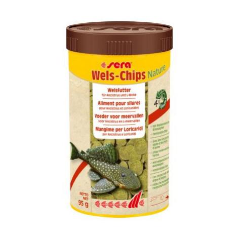 Sera Wels Chips Nature - výhodné balení: 2 x 1 litr