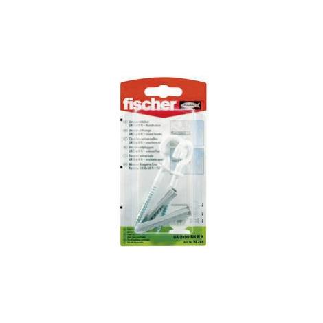 Univerzální hmoždinka Fischer UX 8 x 50 RH N K 94289, Vnější délka 50 mm, Vnější Ø 8 mm, 2 ks