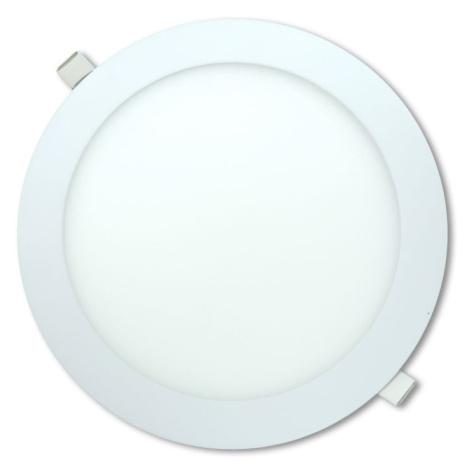 LED stropní panel kulatý 18 W, neutrální bílá