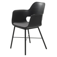Furniria Designové křeslo Jeffery černé