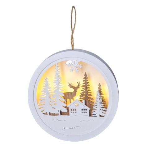 Solight Dekorativní LED obrázek Winter dream Teplá bílá