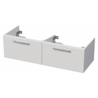 Koupelnová skříňka pod umyvadlo Naturel Ratio 114x36x46 cm bílá lesk TF120D2Z36.9016G