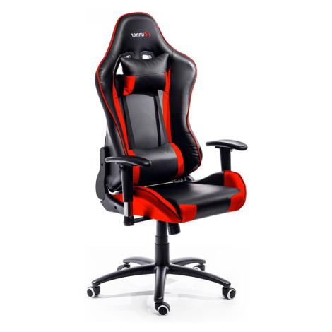 ADK Trade s.r.o. Herní židle ADK Runner, černá/červená