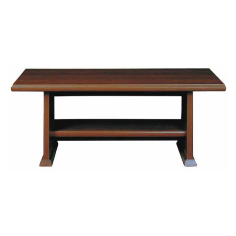 KENT, konferenční stolek ELAW 130, kaštan Black Red White