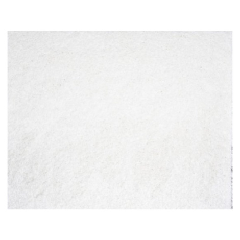 Chlupatý kusový koberec Shaggy Plus bílý 963 Typ: 60x115 cm Spoltex