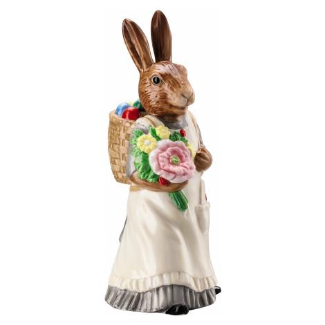 Rosenthal velikonoční figurka paní Zajícová s nůší, Easter Bunny Friends, 13,5 cm, malovaná Zpět