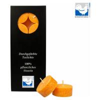 Kerzenfarm Čajové svíčky, Orange 10 ks