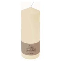Smetanově bílá svíčka Eco candles by Ego dekor Top, doba hoření 50 h