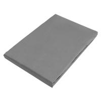 Novel ELASTICKÉ PROSTĚRADLO, satén, šedá, 140-160/200 cm