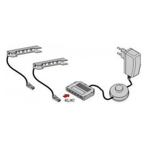 LED osvětlení TV stolku Desmo