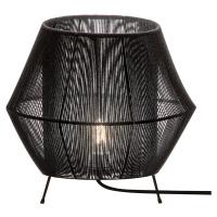 Viokef Stolní lampa Zaira v černé barvě