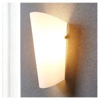 Lindby Nástěnné světlo Aurora se skleněným stínidlem