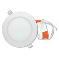 LED stropní panel kulatý 12 W, teple bílá