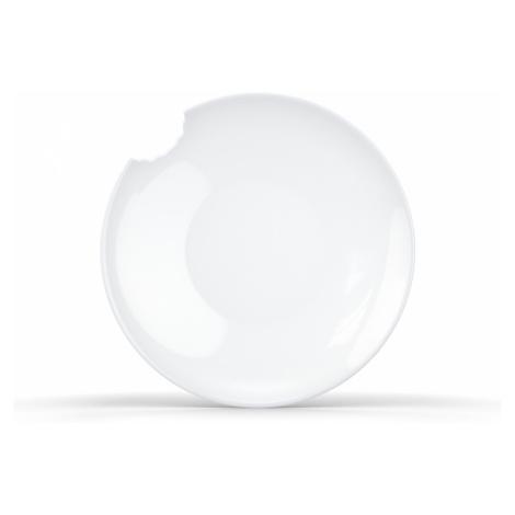 Porcelánové nakousnuté talíře 58products 24 cm | 2ks
